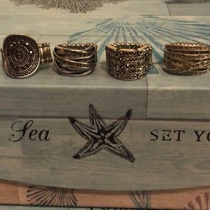 Jewelry - Bundle of Stretchy Rings